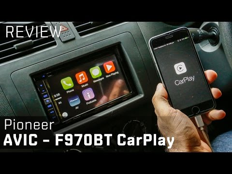 Apple CarPlay + Pioneer AVIC–F970BT Infotainment system:: Video Review :: ZigWheels