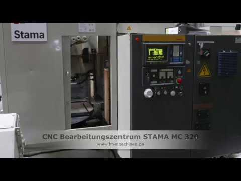 cnc bearbeitungszentrum stama mc 320 youtube rh youtube com