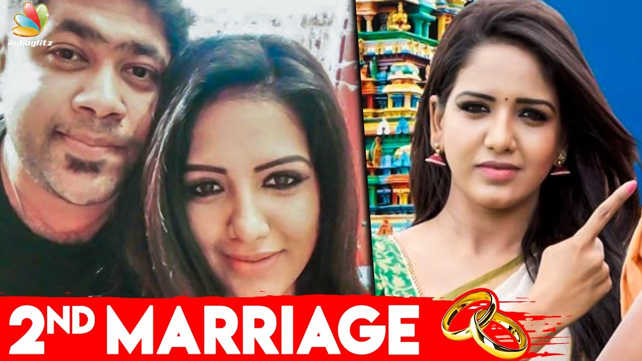 Chinnathambi actress Pavani Reddy announces second marriage - Tamil