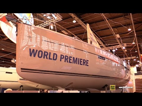2016 Bavaria Cruiser 46 Style Sailing Yacht - Deck Interior Walkaround - 2015 Salon Nautique Paris