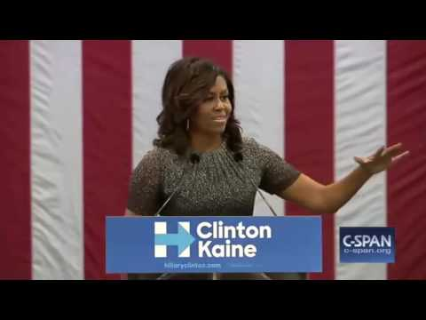 Michelle Obama RIPS Donald Trump In Phoenix, AZ FULL Speech 10/20/16