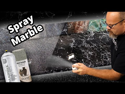 Spray on Stone with Epoxy | Stone Coat Countertops Epoxy