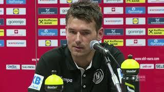 Christian Prokop nach der Niederlage gegen Dänemark