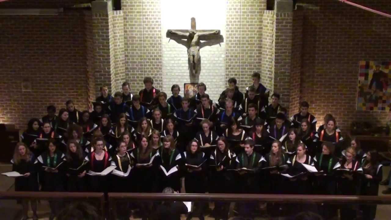 Chants de Noël par la Chorale universitaire de Louvain ...