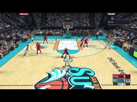 NBA 2K17 MyGM San Diego Surf Ep1