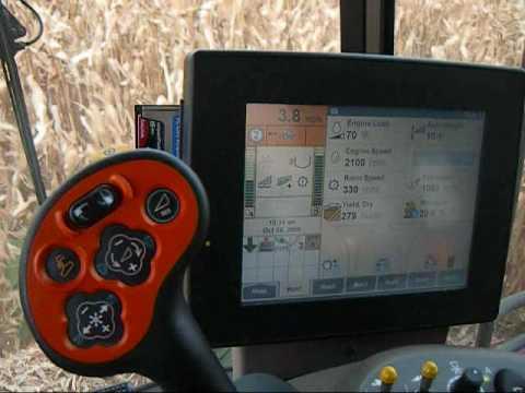 Jenkins Farms - Harvest '09 pt.2 Homer, NE.wmv