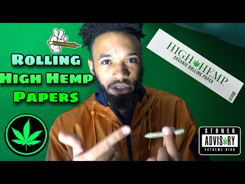 Rolling High Hemp Rolling Papers (Quick & Easy)