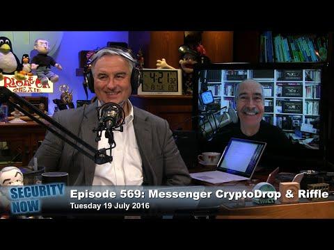 Security Now 569: Messenger, CryptoDrop & Riffle