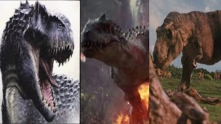 T-Rex vs Indominus Rex