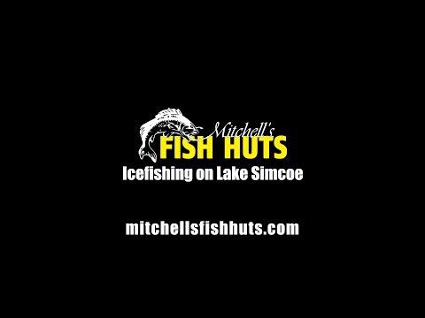 Mitchells Fishhuts - Ice Fishing On Lake Simcoe