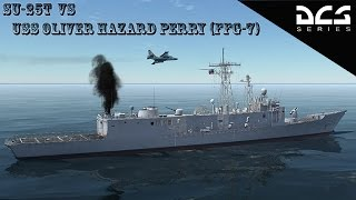 DCS: Su25T Short Film (attacking the USS Oliver Hazard Perry FFG-7)