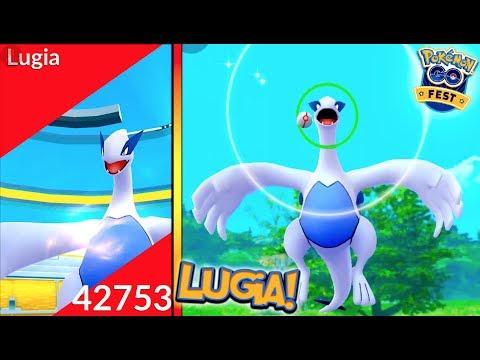 LEGENDARY LUGIA RAID IN POKÉMON GO! MY FIRST LEGENDARY IN POKÉMON GO!