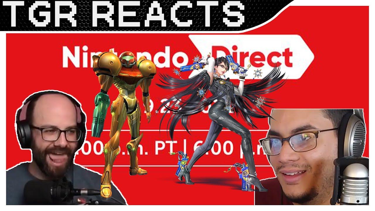 Download Nintendo Direct 9.23.2021 Reaction Live | Hoping for Metroid, Bayo 3, and Super Smash Bros. DLC