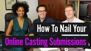 How To Nail Your Online Casting Submissions (with CastingAbout!) | Acting Resource Guru