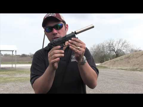 Walther P22 & AAC Element Suppressor 22lr Super Quite Super Fun