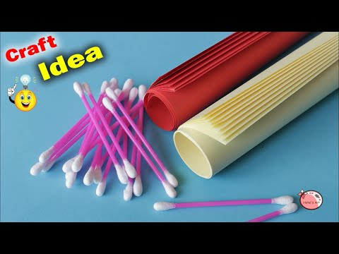 Wall Hanging Using Waste Material | DIY Room Decor 2018 ||  waste mathi best easy