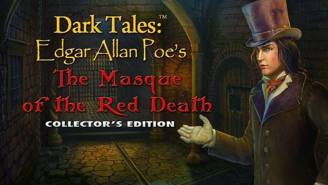 darkness and macabre in edgar allan poes the masque of the red death Dark tales: edgar allan poe's the masque of the red death collector's edition for ipad, iphone, android, mac & pc a murderous figure in a red mask haunts the streets of a small french town, and the mayor needs your help to track him down.