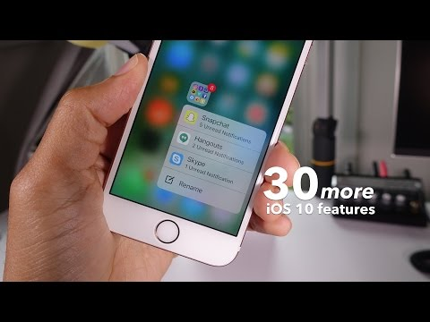 30 more new iOS 10 features + changes!