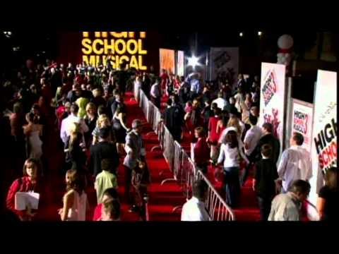 High School Musical 3: Senior Year: Premiere BRoll Part 1 of 2