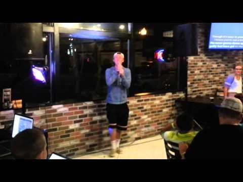 George Michael at Bountiful Pizza Pie Cafe Karaoke