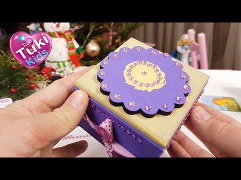 шкатулка для украшений своими руками из картона