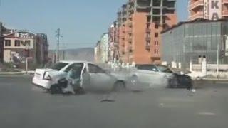 Жесткие аварии 1й недели Августа 2015