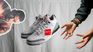 TRYING TO GET JUSTIN TIMBERLAKES SHOES   AIR JORDAN 3 JTH REVIEW?