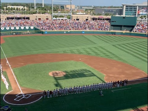 Texas baseball set to resume College World Series game against ...