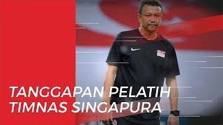 Pernyataan Pelatih Timnas U-22 Singapura Jelang Laga Kontra Indonesia