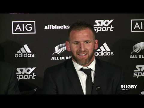 Bledisloe Cup: New Zealand press conference, Auckland