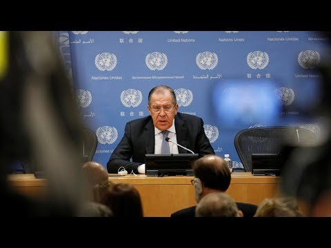 Russian foreign minister calls US defense strategy 'confrontational'
