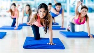 Занятия фитнесом. Как быстро похудеть к лету