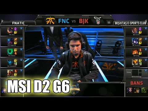 Fnatic vs Beşiktaş e-Sports Club | MSI Group Stage Day 2 Mid Season Invitational 2015 | FNC vs BJK