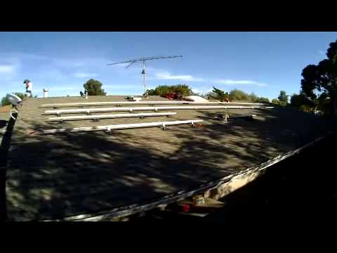 LA Solar Group Install - Time Lapse