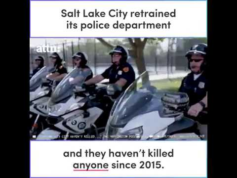 Salt Lake City Police Department Hasn't Killed Anyone Since 2015