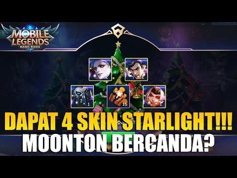 EVENT PALING MENGUNTUNGKAN!!! BISA DAPAT 4 SKIN STARLIGHT SEKALIGUS - CHRISTMAS TREE MOBILE LEGENDS