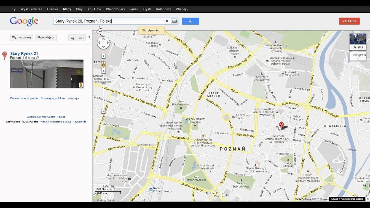 Jak Sprawdzic Szerokosc I Dlugosc Geograficzna Na Google Maps