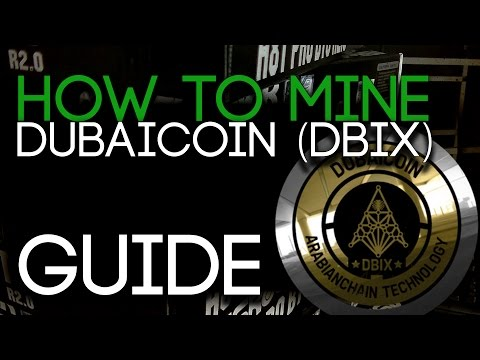 How To Mine Dubaicoin (DBIX) Guide! For RX 400/500 GPUs.