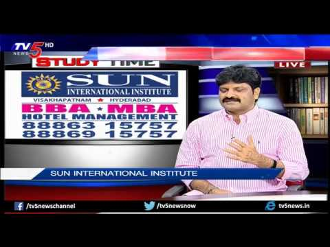Management & Hotel Management Courses   Sun International   Study Time   TV5 News