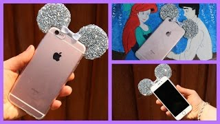 3D Minie Mouse Ear Bling Case DIY