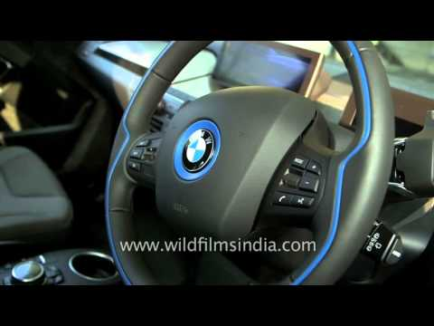 BMW i3 electric car at a glance