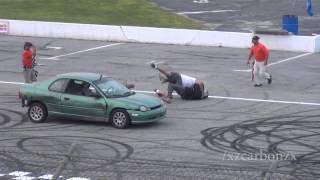 Spectator Drag Finals FIGHT (Oxford Motor Mayhem)