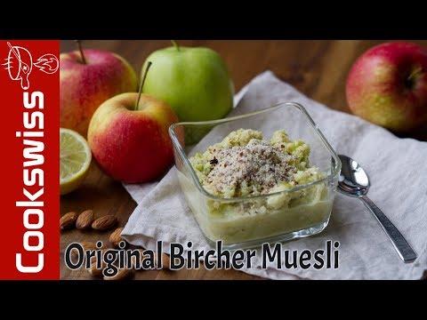 Original Swiss «Bircher Muesli» recipe from Dr. Bircher-Benner
