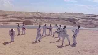 Suez Canal New: Karate in the new Suez Canal