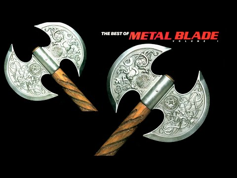 THE BEST OF  METAL BLADE VOL I  -  ALBUM...
