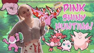 PINK SHINY HUNTING! PAJAMA PARTY!!  Lets Go Pikachu! SUPER CHILL Live Stream!