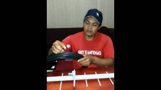 Como instala uma antena de celular