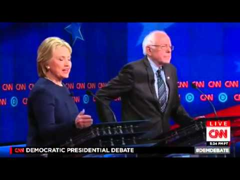 Uncut: Hillary Clinton defends the bank bailout and corporate welfare Democratic Debate 3-6-2016