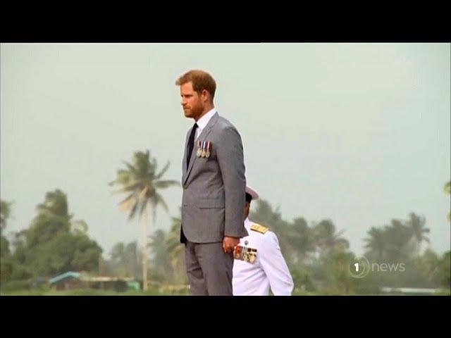 Royal newlyweds say bye bye Australia, bula to Fiji as royal tour hits the Pacific