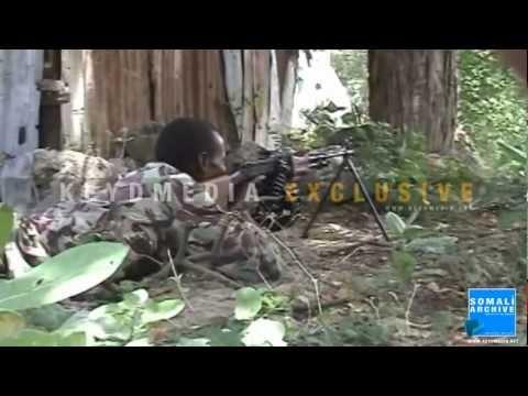 Latest fighting in the Juba region, 75 km from Kismayo